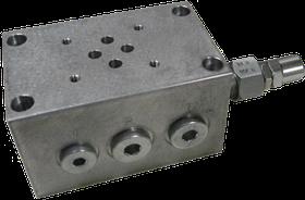 Плита OMT BSA10DPLX-20 с предохранительным клапаном