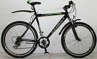 Горный спортивный велосипед 29 дюймов 21 рама  Azimu Fly  (оборудование SHIMANO) зеленый ***