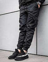 Карго штаны beZet Fight black штани джоггеры джогери pants джоггери .