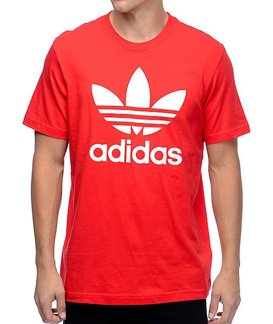 Футболка мужская Adidas красная