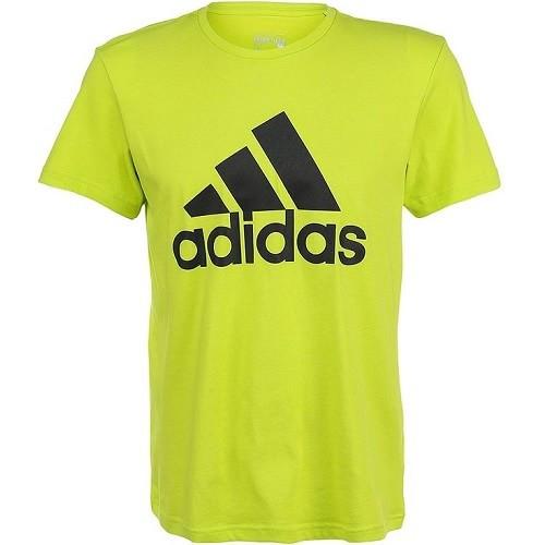 Жёлтая мужская футболка Adidas