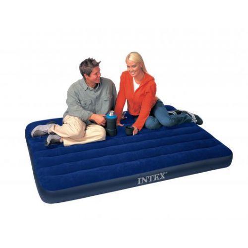 Полуторный надувной матрас Intex 68758