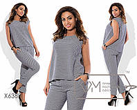 Модный женский костюм Батал к-t15151260