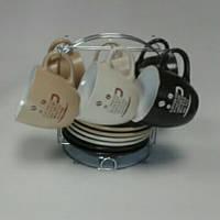 Сервиз чайный 12пр. на стойке  СНТИ