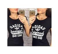 Женская футболка Adidas since 1949