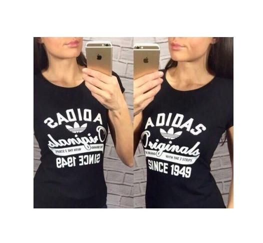 Женская футболка Adidas since 1949, фото 1