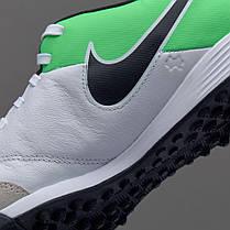 half off a1a73 970e5 Сороконожки Nike TiempoX Genio II Leather TF 819216-103 Найк Темпо  (Оригинал),