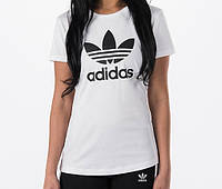 "Футболка жіноча ""Adidas"" біла адідас"