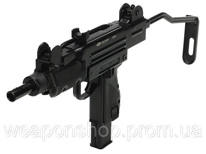 Пневматический пистолет пулемет Gletcher UZM