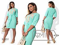Красивое женское платье больших размеров к-t15151270
