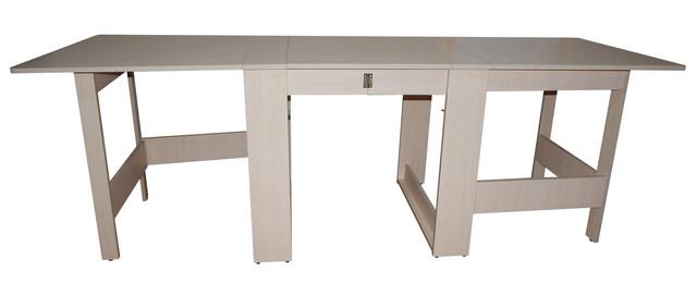 """Раскладной стол книжка трансформер """"Гранд-70"""" ск-02: дуб молочный"""