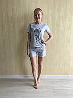 Пижама женская Жираф футболка и шорты