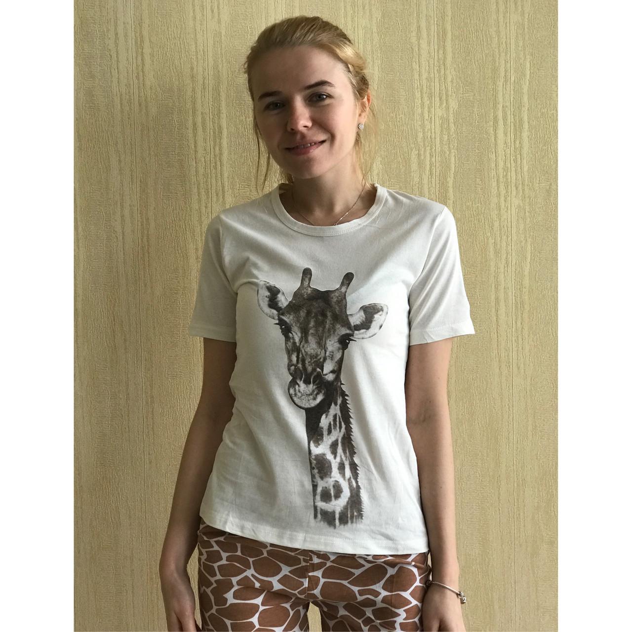 Пижама женская Жираф футболка и шорты   продажа e3ca4301ed5d0