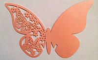 Декор картон Бабочка 1 в бокал 80X75 мм (товар при заказе от 200 грн)