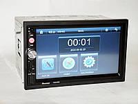 Автомагнитола Pioneer 7023 магнитола + пульт на руль + навигация+ карта памяти + карты
