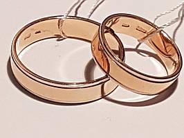 Обручальное золотое кольцо. Артикул ОК236.1 16