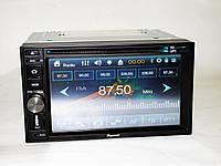 Автомагнитола Pioneer TS-6220 магнитола + пульт на руль + навигация+ DVD+USB+SD+Bluetooth+TV