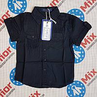 Котоновая детская рубашка с карманами на мальчика DONG, фото 1
