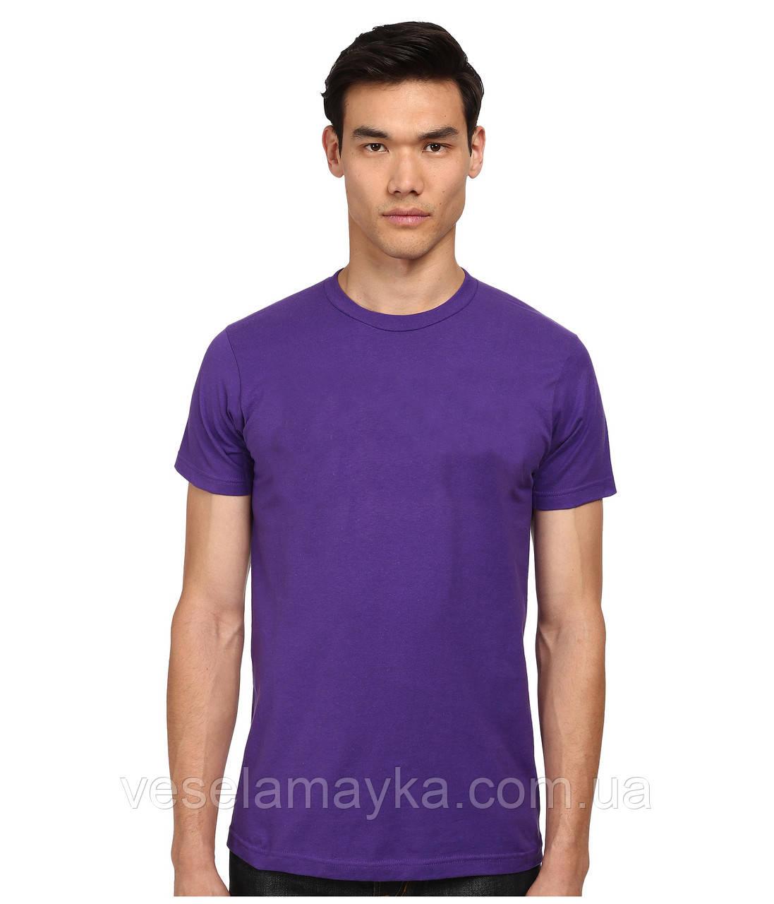 Фіолетова чоловіча футболка (Комфорт)