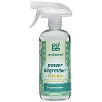 GrabGreen, Обезжиривающее чистящее средство, без отдушек, 16 унций (473 мл)