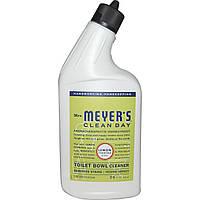 Mrs. Meyers Clean Day, Чистящее средство для унитаза с запахом вербены лимонной, 24 жидких унций (710 мл)