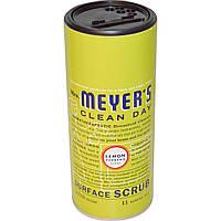 Mrs. Meyers Clean Day, Скраб для очистки поверхности, с лимонной вербеной, 11 унций (311г)
