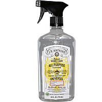 J R Watkins, Натуральные товары для дома, Универсальное чистящее средство с ароматом лимона, 24 жидких унции (710 мл)