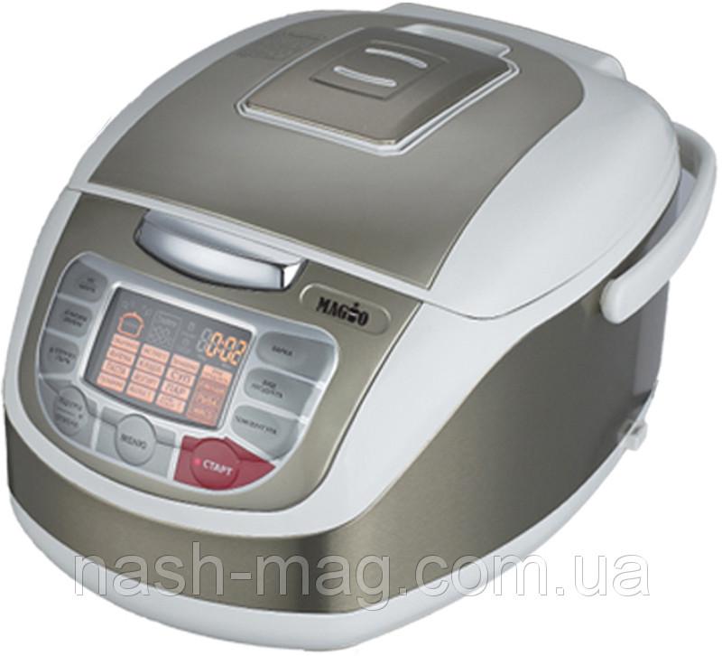 Мультиварка MAGIO МG-408, 900Вт, 5 л.100 программ, 3D нагрев, керамическая чаша