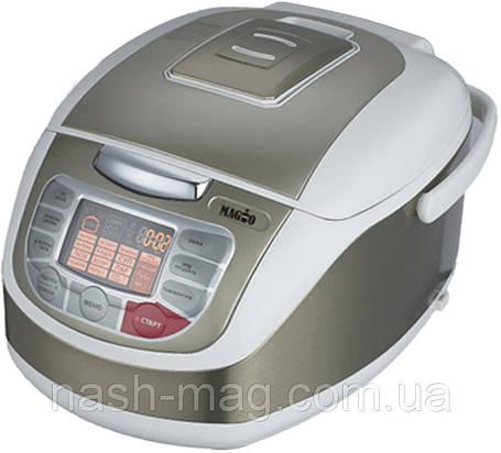 Мультиварка MAGIO МG-408, 900Вт, 5 л.100 программ, 3D нагрев, керамическая чаша, фото 2