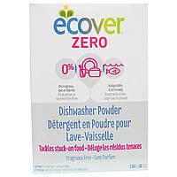 Ecover, Порошок для посудомоечных машин Zero, без ароматизаторов, 48 унций (1,36 кг)