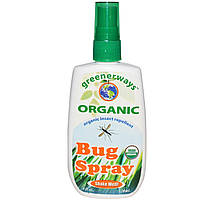 Greenerways, Bug Spray, органическое средство от насекомых, 4 жидкие унции (120 мл)