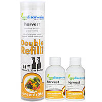 EcoDiscoveries, Средство для мытья и хранения овощей и фруктов, Двойная упаковка для наполнения, 2 бутылки по 2 унции (60 мл)