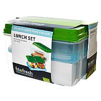 Fit & Fresh, Набор контейнеров, со сменным паковым льдом , набор из 7 предметов