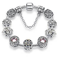 Браслет женский 6382 Пандора (все размеры) Pandora с шармами