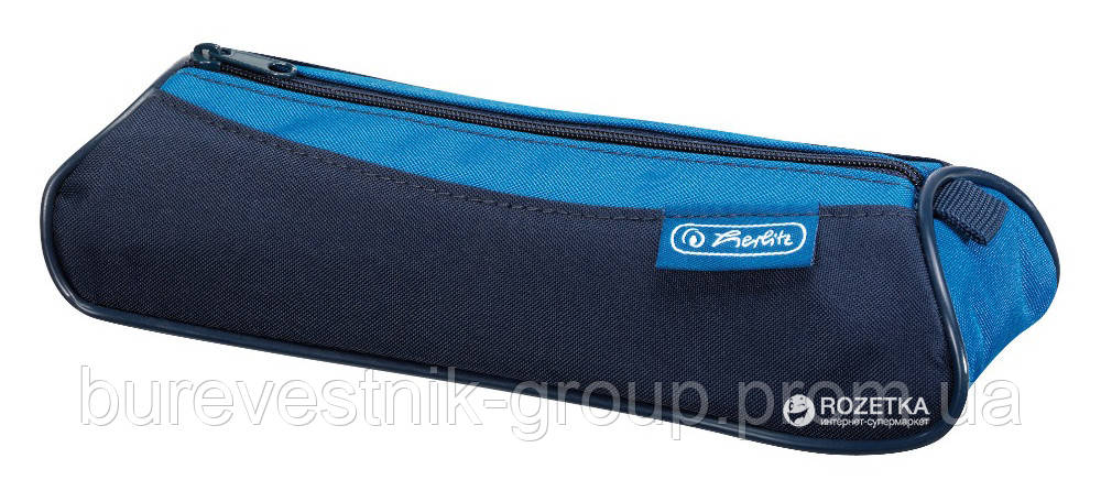 Пенал Herlitz My.Case Triangular Sport Blue