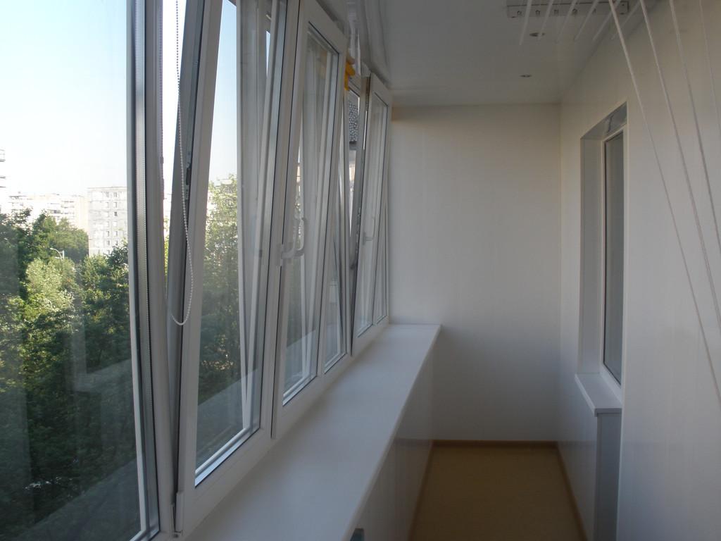 Остекление балкона нестандартной формы 2