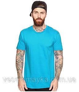 Бирюзовая мужская футболка (Комфорт)