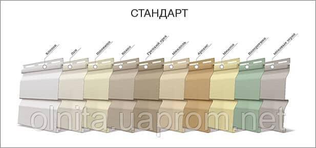 Панель FaSiding стандарт 3,85*0,255м грецкий орех - Олніта в Львове