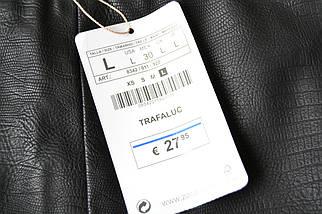 Новая кожаная юбка Zara, фото 3