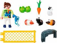 """Игровой набор """"Девочка с морскими свинками"""" Playmobil  (4794)"""