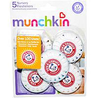 Munchkin, Arm & Hammer, детские освежители воздуха, с запахом лаванды, 5 освежителей