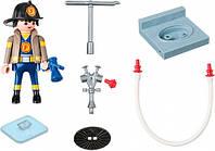 """Игровой набор """"Пожарник с гидрантом"""" Playmobil  (4795)"""