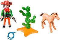 """Игровой набор """"Ковбой с жеребенком"""" Playmobil (5373)"""