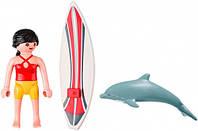 """Игровой набор """"Серфингист с доской"""" Playmobil (5372)"""