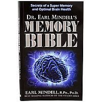 Now Foods, Памятная Библия, д-р Эрл Минделл, мягкий переплет, 88 страниц