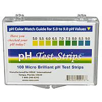 Vaxa International, Тест-полоски для определения pH, 100 полосок