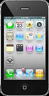 """Китайский iPhone 4G, 3.2"""", 2 SIM, FM-радио, Java. Черный"""