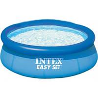 Бассейн семейный надувной Easy set 28110 Intex