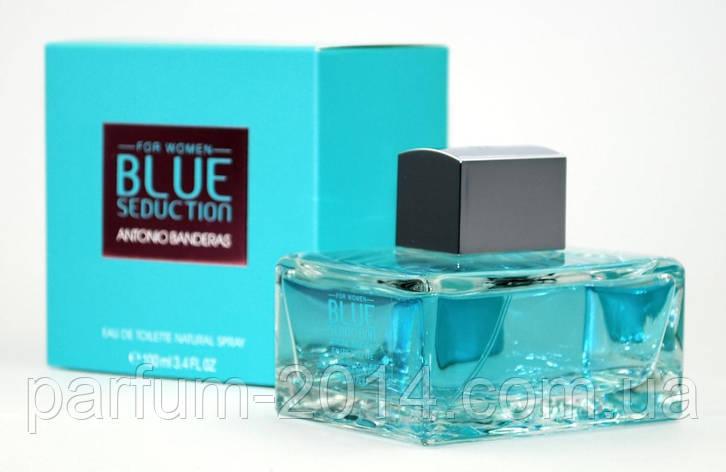 Женская туалетная вода Blue Seduction Antonio Banderas woman, фото 2