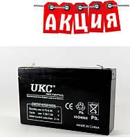 Аккумулятор 6V 7A UKC. АКЦИЯ